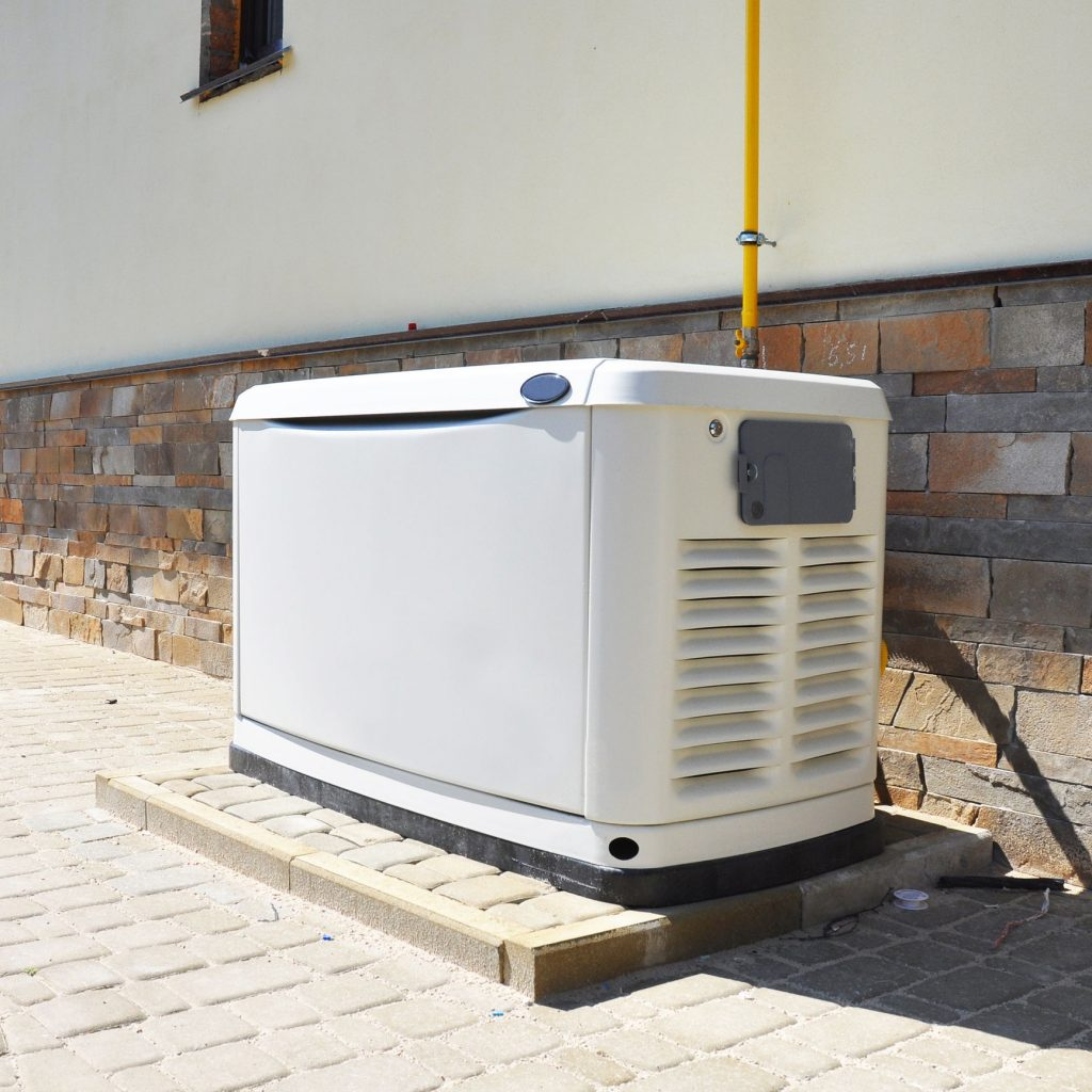 generator installed for home