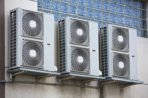 HVAC Units Installed Mid Building Outside